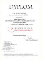 Dyplom echokardiografii przezprzełykowej