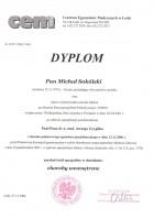 Dyplom specalisty w dziedzinie - choroby wewnetrzne
