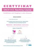 Certyfikat EACVI ECC Teaching Course